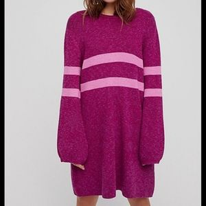 """New Free People """"on your team"""" sweater dress"""